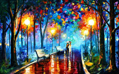 Wallpapers Famous Painting Artist Painter Brush Oil On Canvas