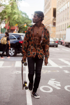 marieahh Adonis Bosso at NYMFW SS17 shot by Melodie Jeng