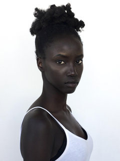 The Sudanese Model Anok Yai on Being Discovered and Inspiring Young