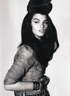 Crystal Renn by Armin Morbach in Size Matters