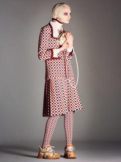 Fran Summers Imaan Hammam Kiki Willems in British Vogue August
