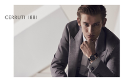 CHRISTOPHER EINLA for CERRUTI Campaign 2018 by MATTHEW BROOKES