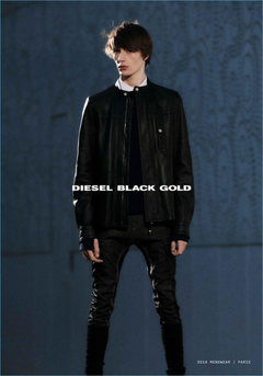 Finnlay Davis Embraces Techno Grunge for Diesel Black Gold Spring