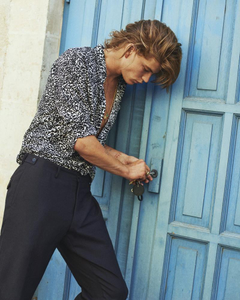 Jordan Barrett at IMG by Paul Scala for Buro Magazine