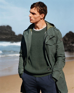 Julian Schneyder Hits the Beach for Marc O Polo Spring 19 Campaign