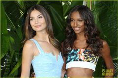 Lily Aldridge Shares Cutest Photo of Daughter Dixie Making Music