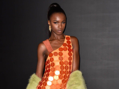 Leomie Anderson over the moon to see Rihanna in her designs