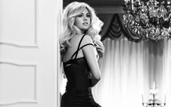 Kate upton black white Wallpapers