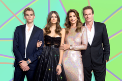 Cindy Crawford s Son Presley Tattooed Sister Kaia s Name Pic