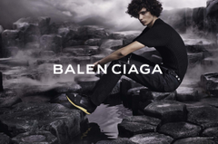Balenciaga Goes Dark for Spring Summer 2015 Campaign Starring Piero
