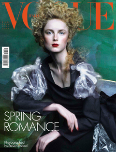 Rianne van Rompaey Throughout the Years in Vogue