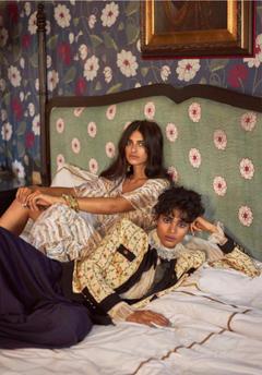 Saffron Vadher Radhika Nair in Vogue India September 2018 by Greg