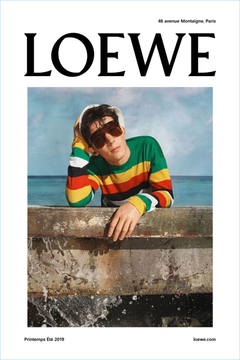 Josh O Connor Oscar Kindelan Star in Loewe Spring 19 Campaign