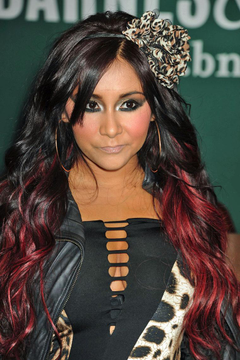 Nicole Snooki Hairstyles