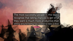 Steve Harvey Quote The most successful people in this world