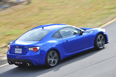 Subaru BRZ High Resolution Wallpapers in World Rally Blue and Matte