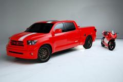 Toyota Tundra Ducati Transporter News and Information