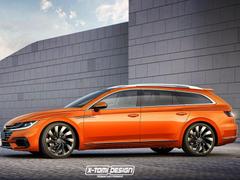 Volkswagens Confirms Stunning Arteon Shooting Brake