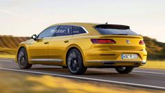 VW Arteon Shooting Brake Given The Green Light Could Get V6