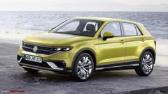 Volkswagen Subcompact Suv T Cross Breeze Spy Shots Image Via S