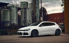White Volkswagen Scirocco wallpapers