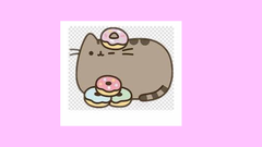 Pusheen With Donuts