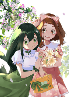 Uraraka and Froppy