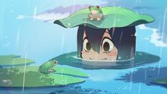Asui and froggo