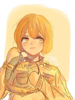 yellow dum crewmate