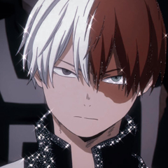 Aesthetic shoto Todoroki icon