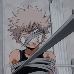 Aesthetic bakugo icon