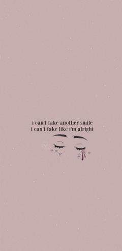 I m finally admitting that I m not okay
