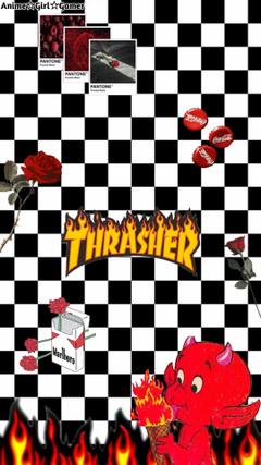 Thrasher Rose Red Devli