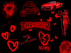 Red Thrasher Vibez