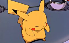 Pikachu turn yourself back to normal