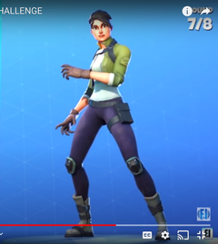 guess the fortnite skin clue hes a youtuber