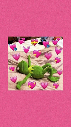 kermit is sooo cute like dis bro