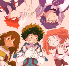 deku and friends