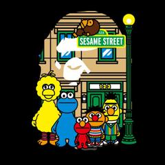 sesame street bape