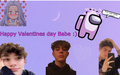 Posting this early because i wont be on on valentines day