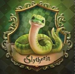Cute Slytherin snake