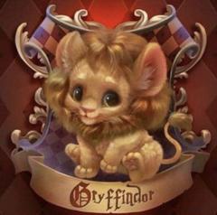Cute Gryffindor lion