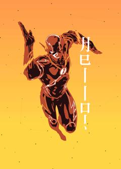 The Flash DC Superheros