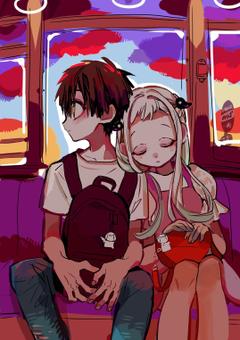 On the bus toilet bound hanako kun