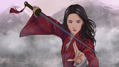 New Mulan Fan Art Wallpaper HD Movies 4K Wallpapers Image Photos and Backgrounds