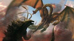 Best 74 Godzilla Vs King Ghidorah Wallpapers on HipWallpapers