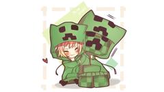 Koleksi Wallpapers Minecraft Anime