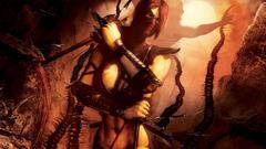Mortal Kombat Warrior Games Girls 3D Graphics Fantasy wallpapers