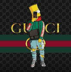 Bart with the drip LOL