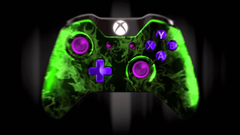 Xbox controller colorful